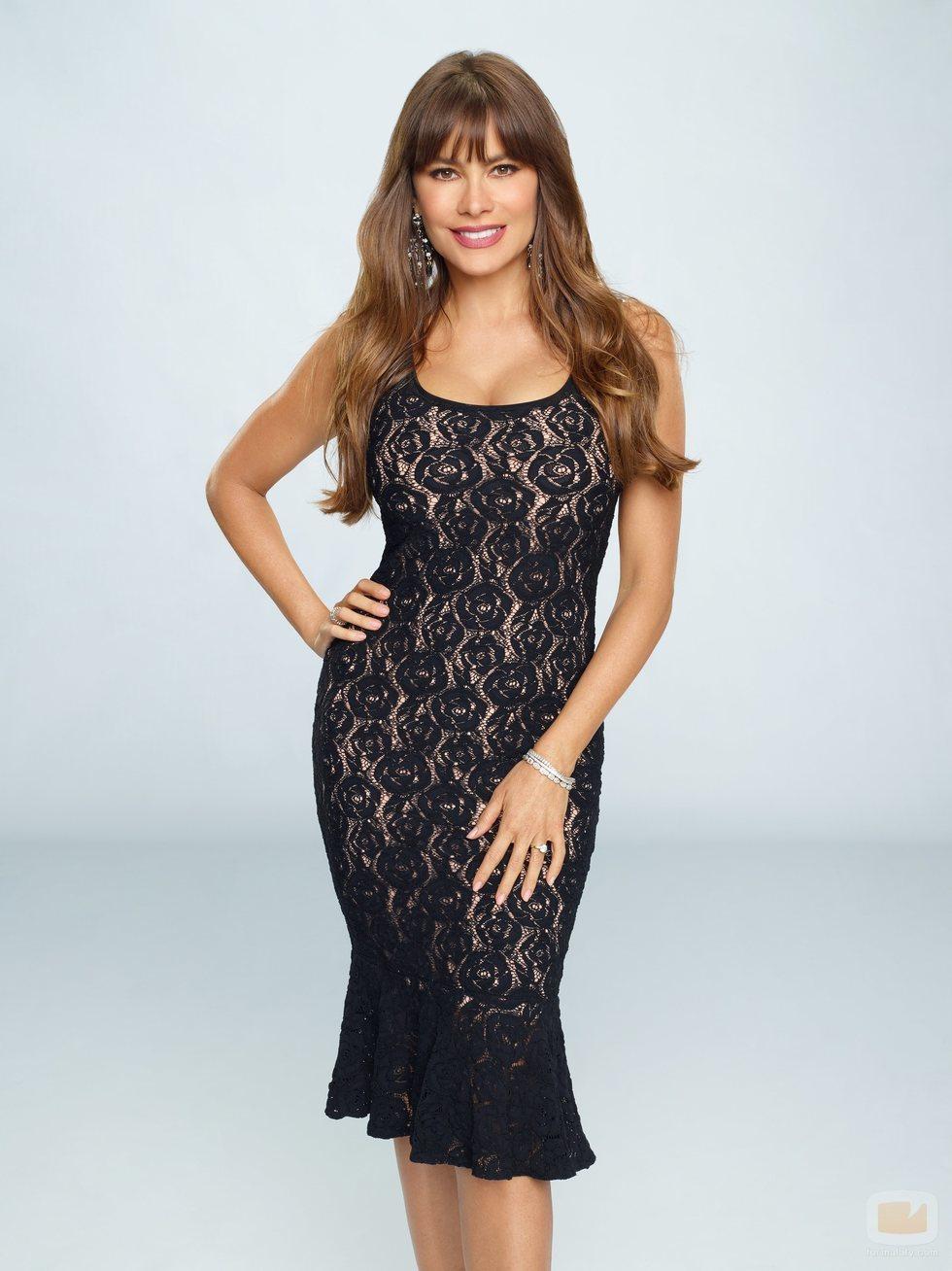 Sofía Vergara posa para la décima temporada de 'Modern Family'