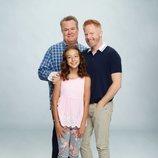 La familia Tucker-Pritchett posa para la décima temporada de 'Modern Family'