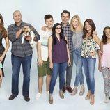El reparto de 'Modern Family' posa para la décima temporada
