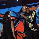 Noelia y Famous cantan juntos en la Gala 3 de 'OT 2018'