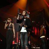 Natalia y Damion cantan en la Gala 3 de 'OT 2018'
