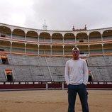 Frank Cuesta en una plaza de toros