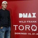 Frank Cuesta presentando 'Wild Frank: Toros'