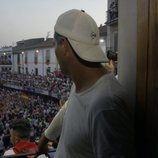 Frank Cuesta observa unos festejos taurinos