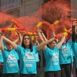 Una protesta antitaurina en 'Wild Frank: Toros'