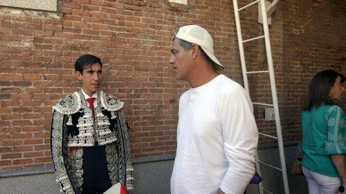 Un torero cara a cara con Frank Cuesta