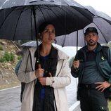 Megan Montarner y Alain Hernández en 'La caza. Monteperdido'