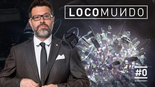 Cartel ancho de la nueva temporada de 'LocoMundo', presentado por Quequé
