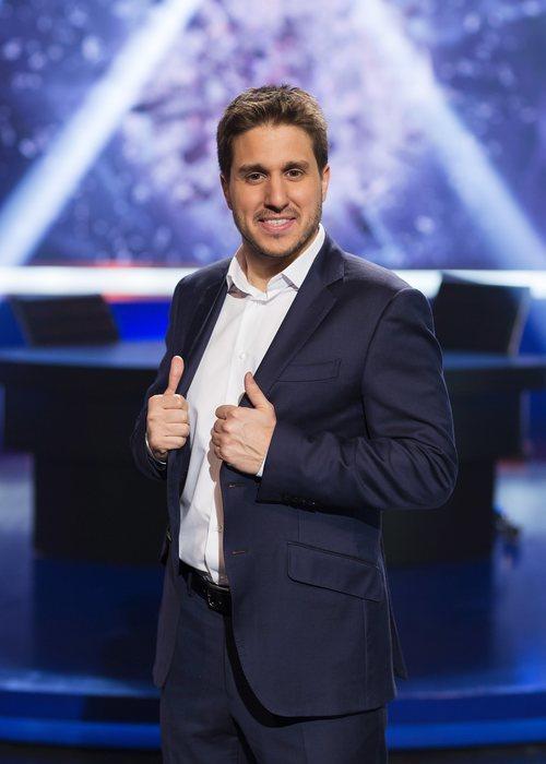 Pablo Ibarburu posa en la presentación de la nueva temporada de 'LocoMundo'