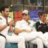 Asraf, Omar Montes y Techi en la Gala 5 de 'GH VIP 6'