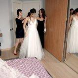Elif se vista de novia en 'Amor de contrabando'