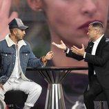 Jorge Javier Vázquez entrevista a Omar Montes, tercer expulsado de 'GH VIP 6'