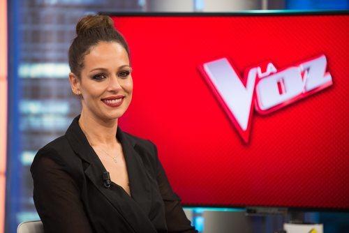 Eva González es la presentadora de 'La Voz' de Antena 3