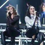 Marta y Marilia cantan a dúo en la Gala 4 de 'OT 2018'