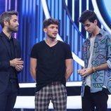 Roberto Leal junto a los nominados de la Gala 4 de 'OT 2018'