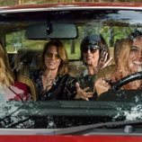 Las cuatro hermanas de 'A pesar de todo' viajan en coche