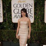 La actriz Penélope Cruz en la gala de los Globos de oro
