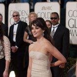 La oscarizada Penelope Cruz en los Globos de oro