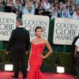 Eva Longoria en los Globos de Oro