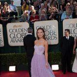Olivia Wilde en los Globos de Oro 2009