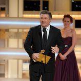 Alec Baldwin recibe el Globo de Oro