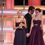 Anna Paquin recibe el Globo de Oro a la Mejor Actriz por 'True Blood'