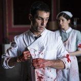 Alejo Sauras como médico en el episodio 2x05 de 'Estoy vivo'
