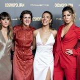 Aitana, Amaia, Miriam y Ana Guerra en los premios Cosmo Awards 2018