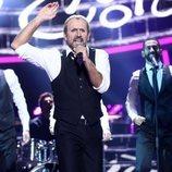 Antonio Garrido es Miguel Bosé en la gala 4 de 'Tu cara me suena'
