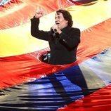 José Corbacho imita a Raphael en la gala 4 de 'Tu cara me suena'