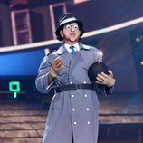 Manu Sánchez es El Inspector Gadget en la gala 4 de 'Tu cara me suena'