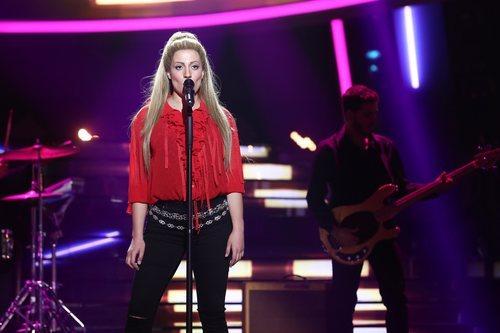 María Villalón imita a Shakira en la gala 4 de 'Tu cara me suena'