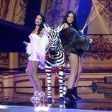 Mimi y Ana Guerra imitan a Becky G y Natti Natasha en la gala 4 de 'Tu cara me suena'