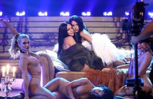 Mimi y Ana Guerra son Becky G y Natti Natasha en la gala 4 de 'Tu cara me suena'