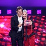 Soraya Arnelas, la ganadora de la gala 4 de 'Tu cara me suena'