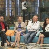 Ángel Garó, Verdeliss, El Koala y Miriam Saavedra en la gala 6 de 'GH VIP 6'