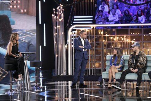 Techi se enfrenta a Omar Montes y Chabelita Pantoja en el plató de 'GH VIP 6'