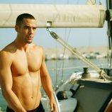 Hugo, de 'Toy Boy', semidesnudo en un barco