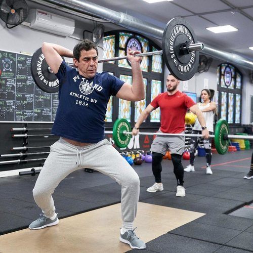 Amador en el gimnasio en la temporada 11 de 'La que se avecina'