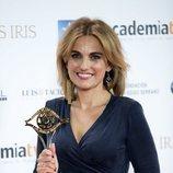 Lourdes Maldonado posa en los Premios Iris 2018