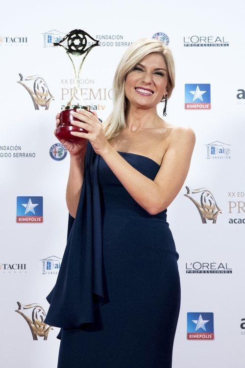 Sandra Golpe posa en los Premios Iris 2018