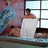 Amador como masajista en la temporada 11 de 'La que se avecina'