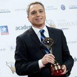 Vicente Vallés posa en los Premios Iris 2018