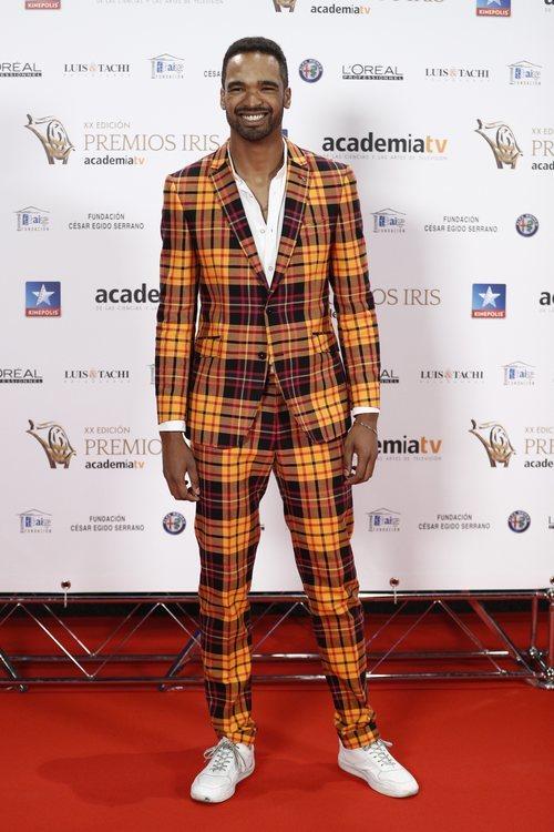 Will Shephard posa en los Premios Iris 2018