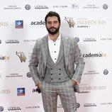 Antonio Velázquez posa en los Premios Iris 2018