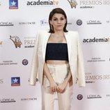 Angy Fernández posa en los Premios Iris 2018