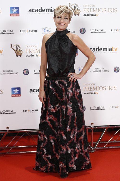 Sara Escudero posa en los Premios Iris 2018