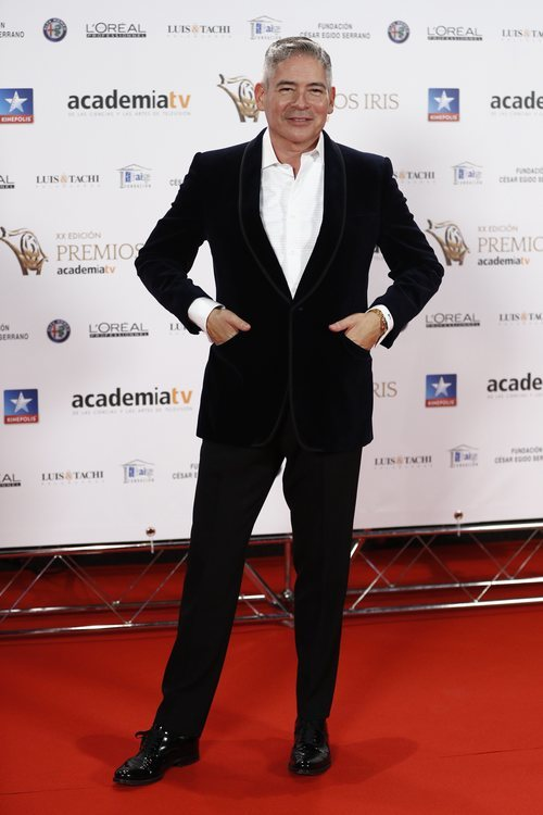 Boris Izaguirre posa en los Premios Iris 2018