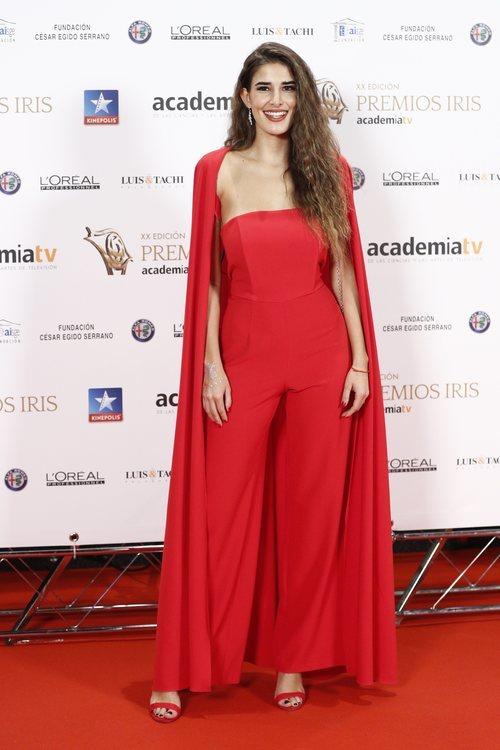 Lidia Torrent posa en los Premios Iris 2018