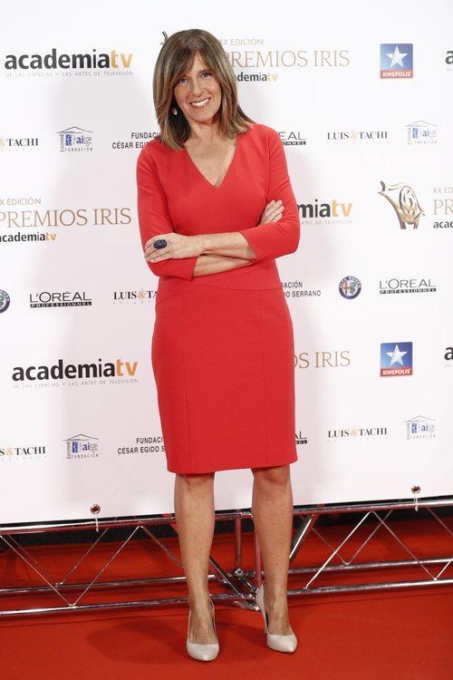 Ana Blanco posa en los Premios Iris 2018